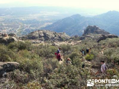 Senda de los Carboneros - senderismo madrid; excursiones fin de año